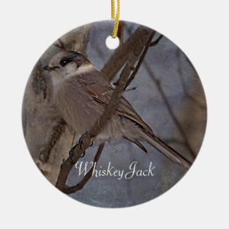 Whiskey Jack Photography Round Ornaments