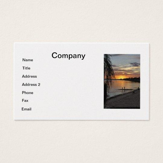 Whiskey Joe's Business Card