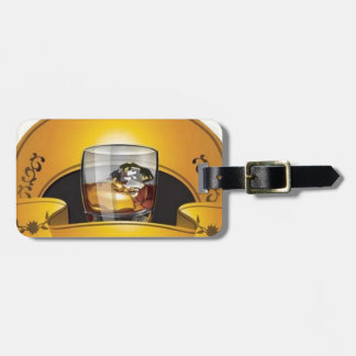 whiskey-logo-vector tag for bags