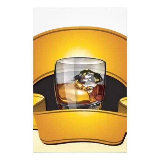 whiskey-logo-vector stationery