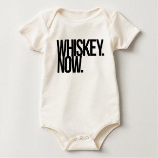 WHISKEY. NOW. BABY BODYSUIT