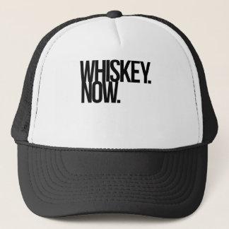WHISKEY. NOW. TRUCKER HAT