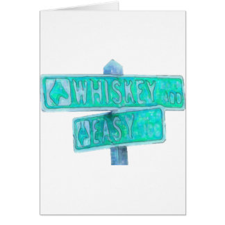 Whiskey Rd & Easy St Greeting Cards