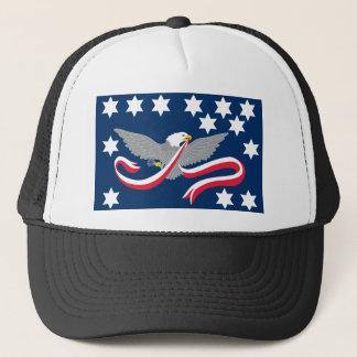 Whiskey Rebellion Flag T-Shirts Trucker Hat