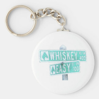 Whiskey Rode and Easy Street 1 Keychain