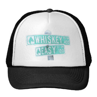 Whiskey Rode and Easy Street 1 Trucker Hat