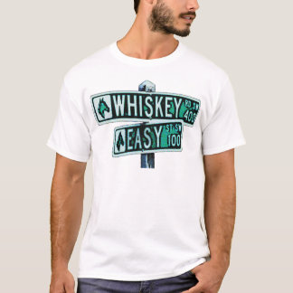 Whiskey Rode and Easy Street 2 T-Shirt