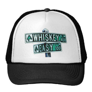 Whiskey Rode and Easy Street 2 Trucker Hat