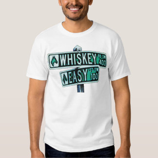 Whiskey Rode and Easy Street 2 Tshirt