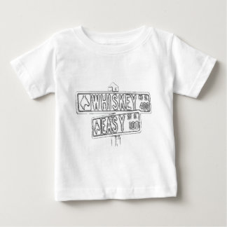Whiskey Rode and Easy Street Baby T-Shirt