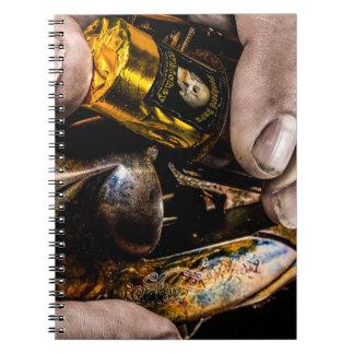 Whiskey Shot Notebook