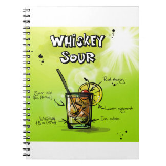 Whiskey Sour - Cocktail Gift Notebook