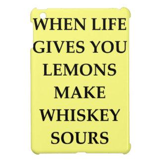 whiskey sours iPad mini case