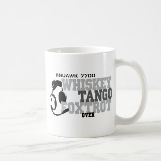 Whiskey Tango Foxtrot - Aviation Humor Coffee Mug