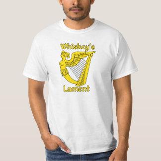 Whiskey's Lament white t-shirt