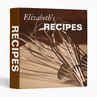 Whisks Recipe Binder