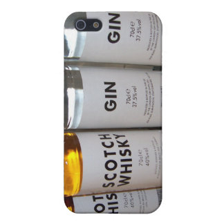 Whisky and Gin iPhone 4 case