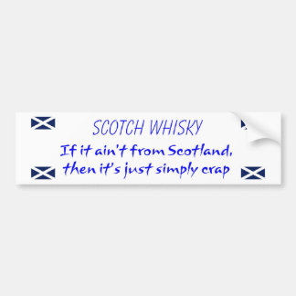 Whisky Bumper Sticker