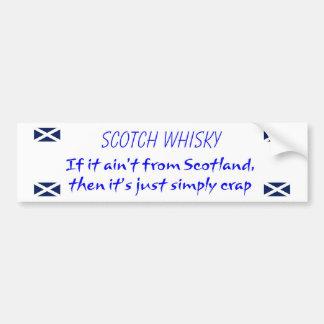 Whisky Bumper Sticker