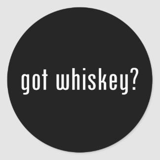 ¿whisky conseguido? pegatinas redondas