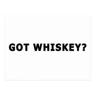 ¿Whisky conseguido? Postales