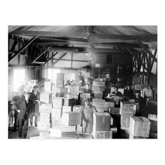 Whisky de contrabando Warehouse, 1920 Tarjetas Postales