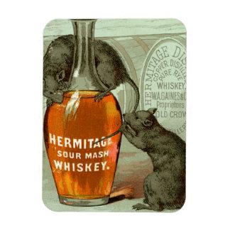 Whisky de puré amargo de la ermita imanes flexibles