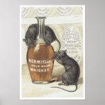 Whisky de puré amargo de la ermita posters