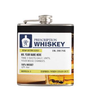 Whisky divertido de la prescripción