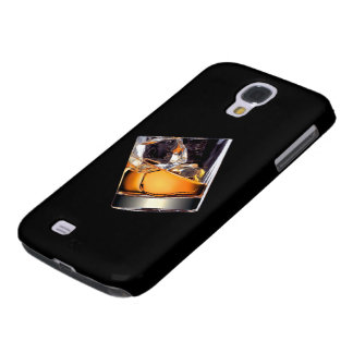 Whisky en la caja de la galaxia S4 de Samsung de Funda Para Galaxy S4