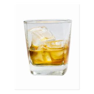 Whisky en las rocas postales