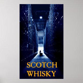 whisky escocés póster