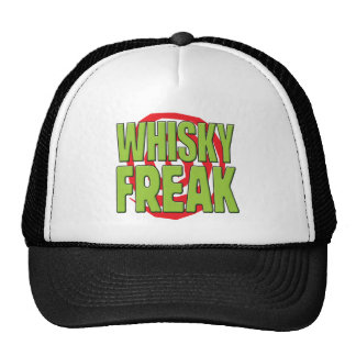 Whisky Freak G Trucker Hats