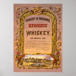Whisky higiénico: 1860 - Poster