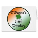 Whisky irlandés felicitacion