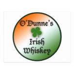 Whisky irlandés postal