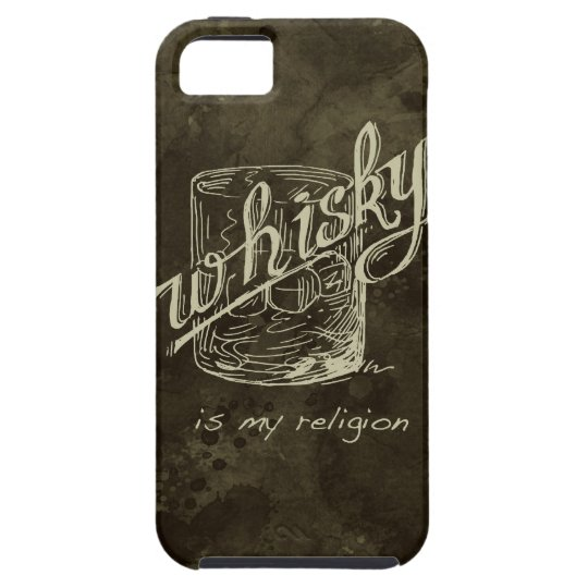 Whisky is my religion! iPhone SE/5/5s case