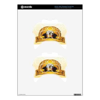whisky-logotipo-vector mando xbox 360 calcomanía