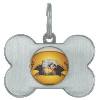 whisky-logotipo-vector placa mascota