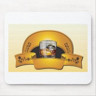 whisky-logotipo-vector mouse pad