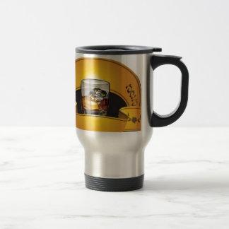 whisky-logotipo-vector taza de viaje de acero inoxidable