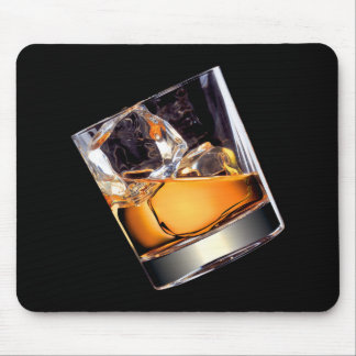 Whisky on the Rocks Mouse Pad