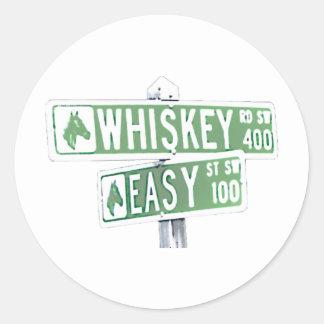 Whisky Rd y St fácil 2 Etiqueta