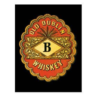 Whisky viejo de Dublín