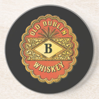 Whisky viejo de Dublín Posavasos Personalizados