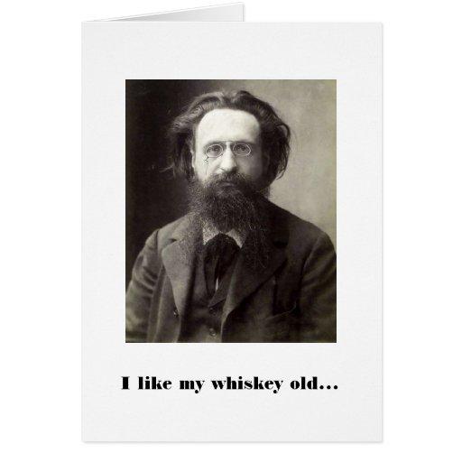 Whisky y mujeres tarjetas