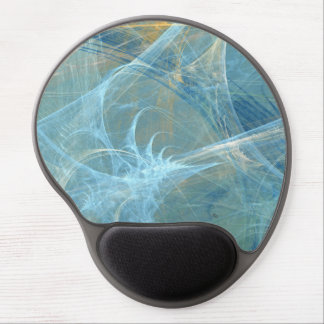 Whisper 3D Abstract Fractal Gel Mouse Pad
