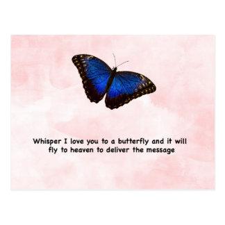 Whisper Butterfly Postcard