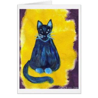 """Whisper"" by Marlo Dianne - Cat Card"