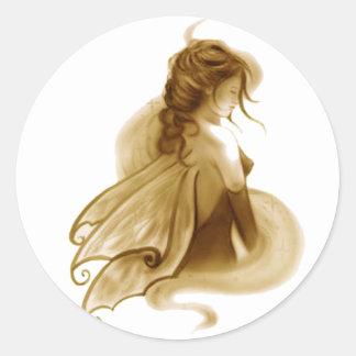Whisper Fairy Classic Round Sticker